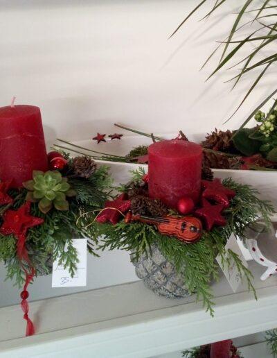 Blumenladen_Adventsausstellung_Kerzen